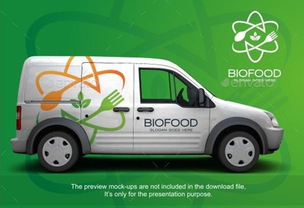 Bio Food Logo Template