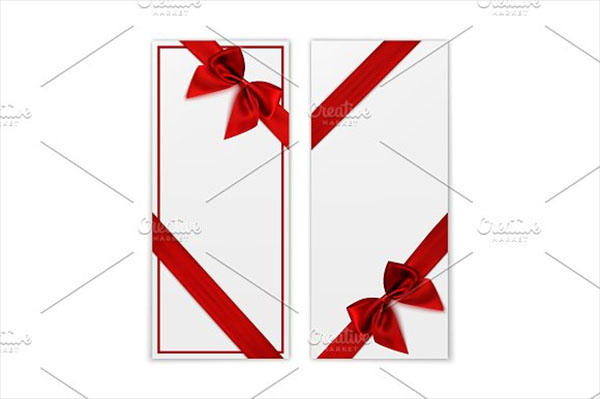 Blank Gift Voucher Card Templates