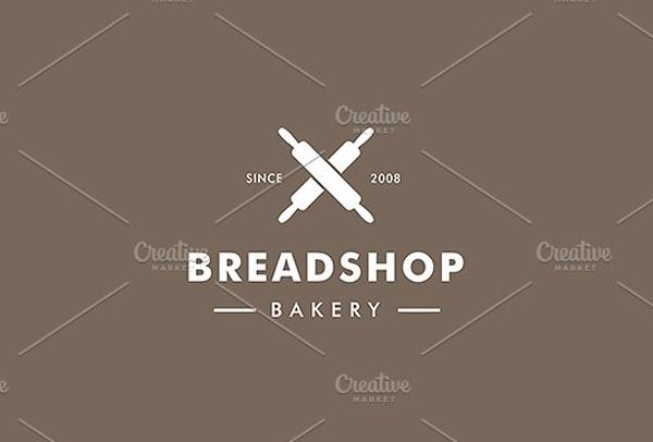 Bread Shop Bakery Logo Template
