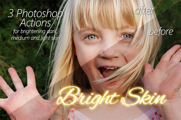 Bright Skin Photoshop Actions