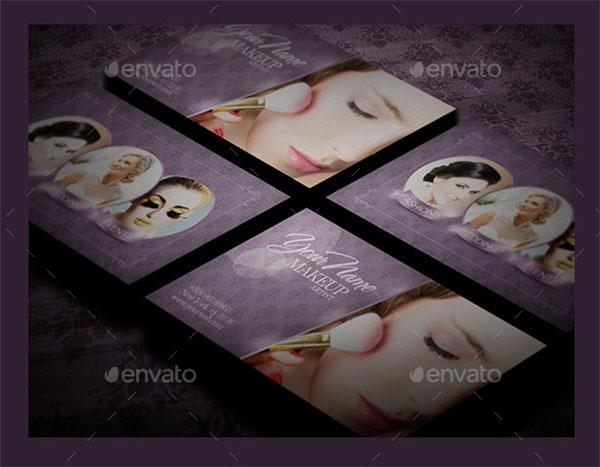 Business Card Makeup Artist