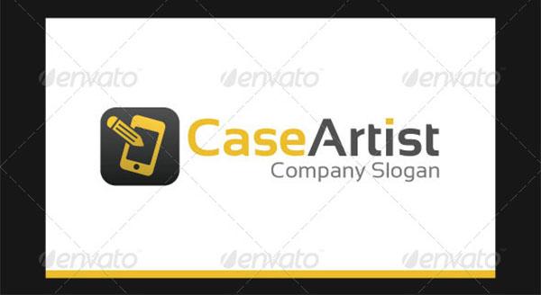 Case Artist Logo Template