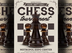 Chess Flyer Templates