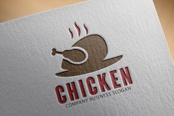 Chicken Logo Template