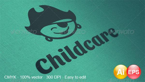 Child care Logo Design