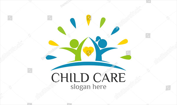 Childcare Foundation Logo Template