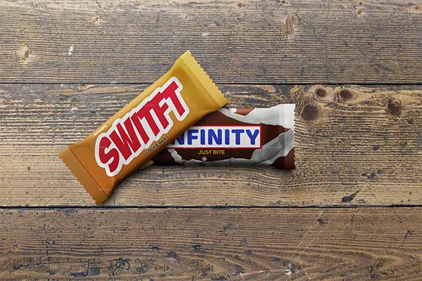 Chocolate Bar Pack Mockups Design