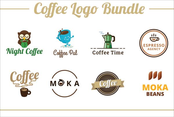 Coffee Logo Templates Bundle