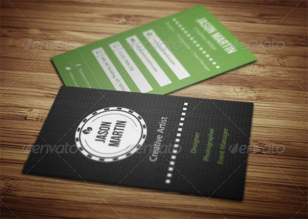 Creative Artist Business Card