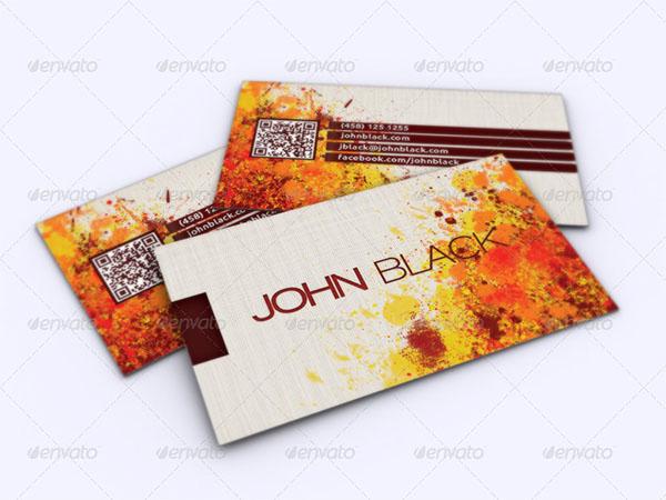 Creative Artist Business PSD Card