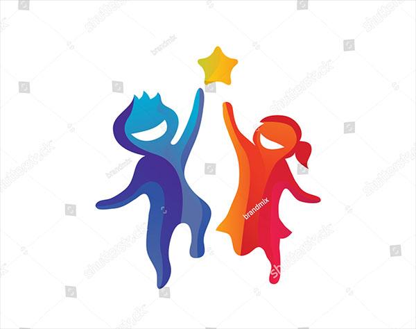 Creative Children Reaching Care Logo
