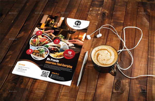 Customize Restaurant Flyer Template