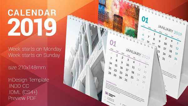 33 Desk Calendar Templates Free Premium Psd Vector Downloads