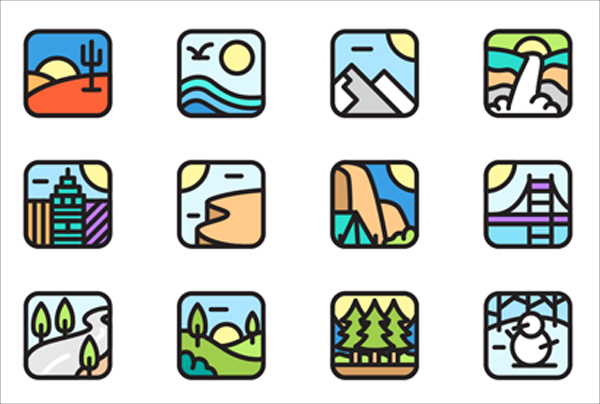 Environment App Icons