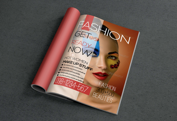 Fashion Magazine Cover Templates