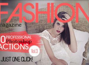 Fashion Magazine Photoshop Actions
