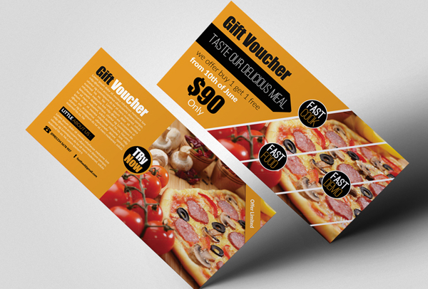 Fast Food Gift Vouchers