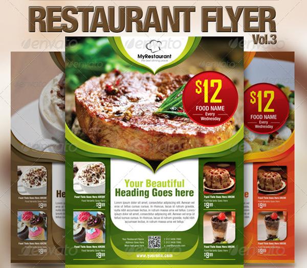 Fast Food Restaurant Flyer Design