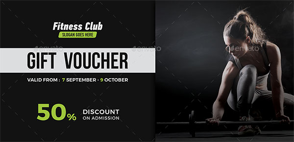 17+ Gym Gift Voucher Templates - Free Photoshop Vector ...