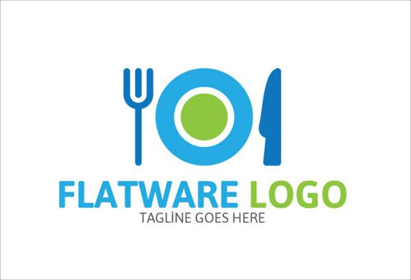Flatware Food Logo
