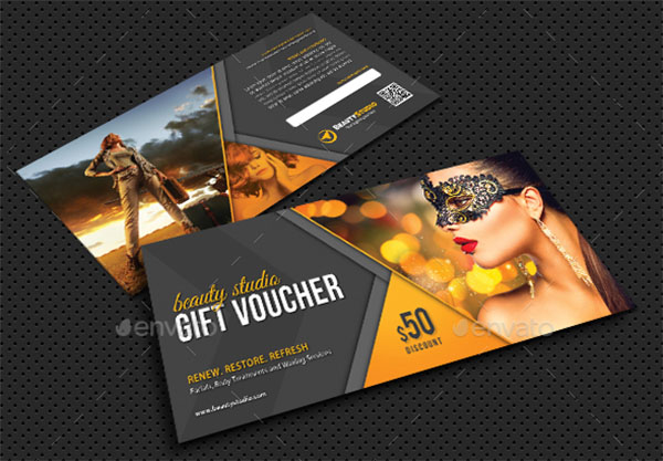 Flexible Multiuse Gift Voucher
