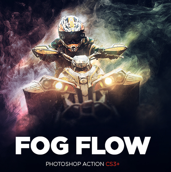 Fog Flow Photoshop Action