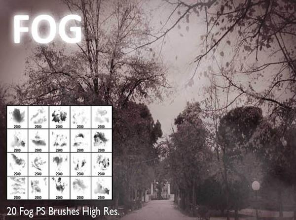 Fog Photoshop Brushes