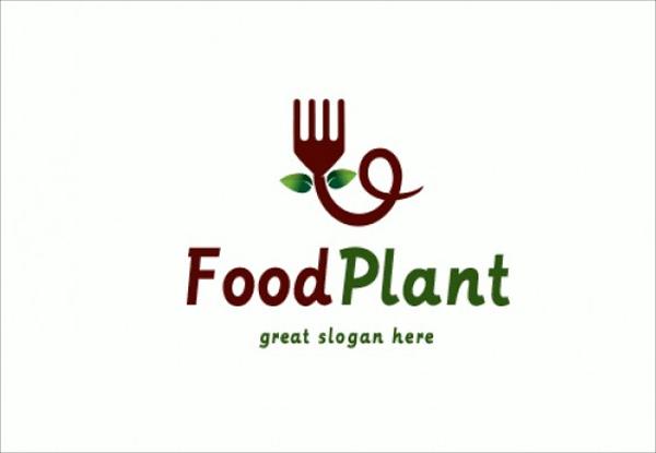 Food Plant Logo