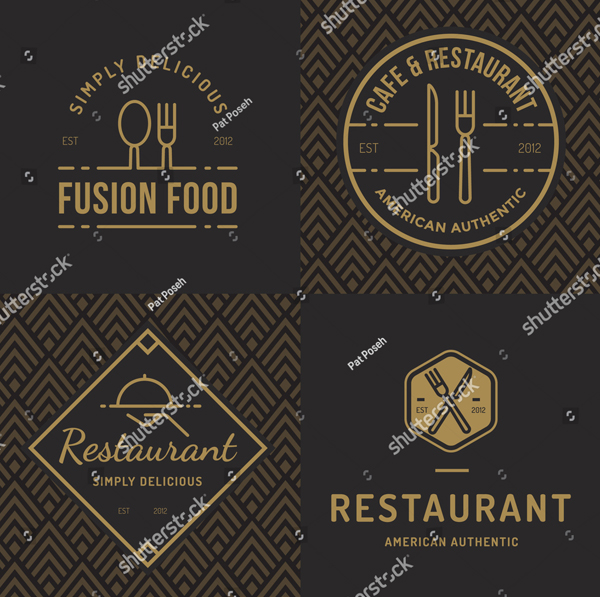 Foods Shop Logo Templates