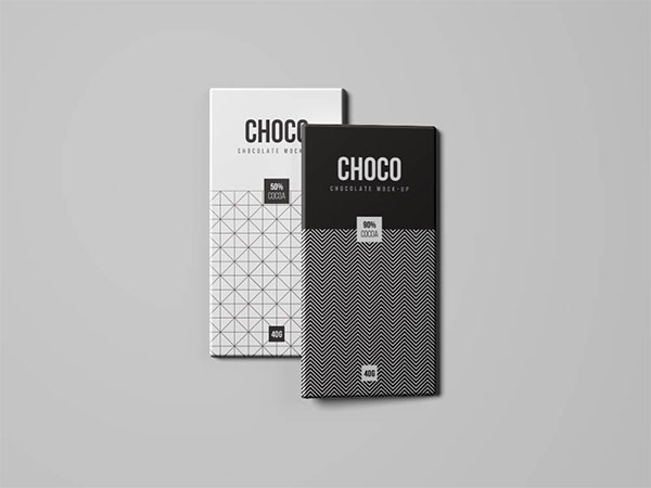 Free Chocolate Bar Packaging Mockups