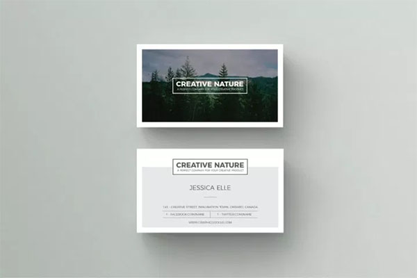 Free Creative Artist Business Card