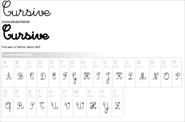 Free Cursive Fonts Dafont Cursive Font dafontcomModesty Font