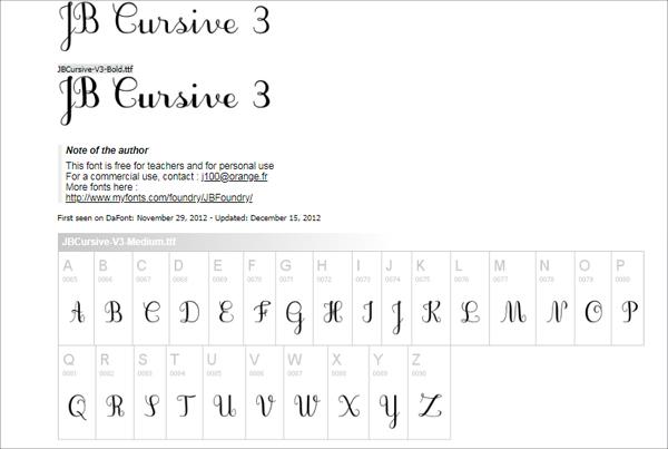 Cursive Tattoo Fonts Dafont Calligraphy fonts from dafontcom Fonts