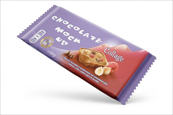Free PSD Chocolate Packaging Design