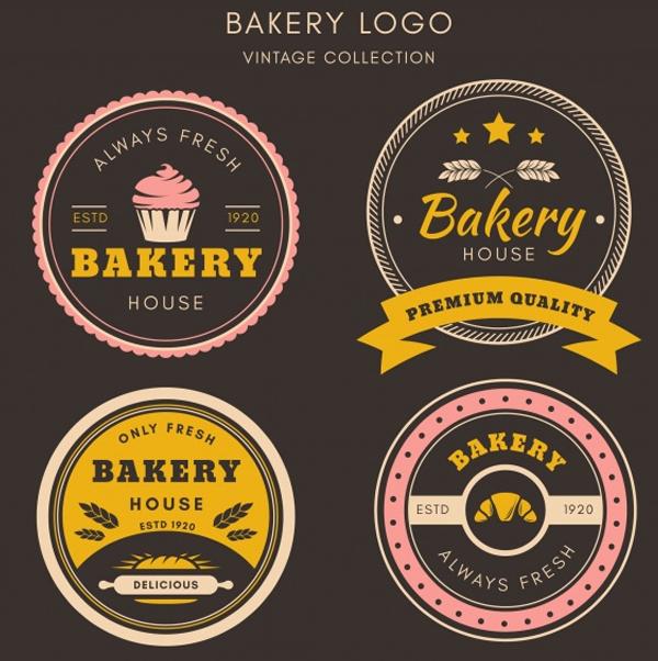 Free Vintage Bakery Logos