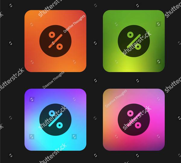 Gradient Color App Icon Design