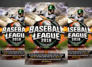Baseball Flyer Templates