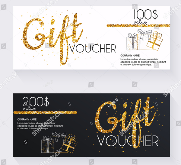 Beautiful Gift Voucher Template