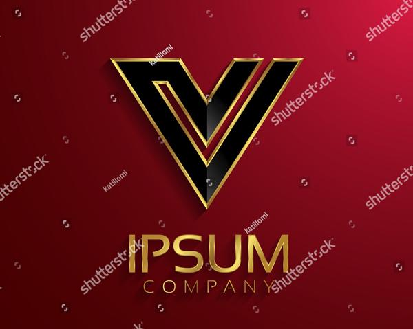 Beautiful Vector Victory Logo