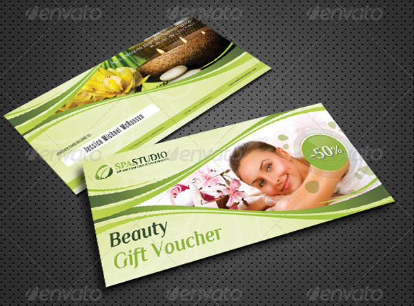 Beauty and Massage Gift Voucher