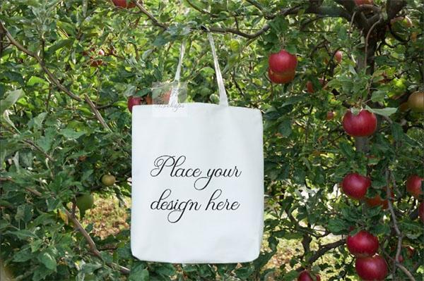Blank Bags Mockup Template