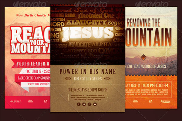 Church Marketing Flyers Bundles