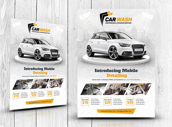 Cleaning Services Flyer Templates
