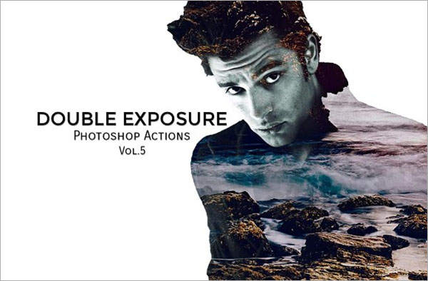 Double Exposure PS Actions