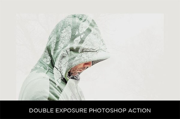 Double Exposure Photoshop Design Actions