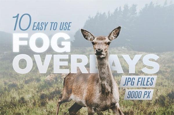 Fog Overlays to Create Mist