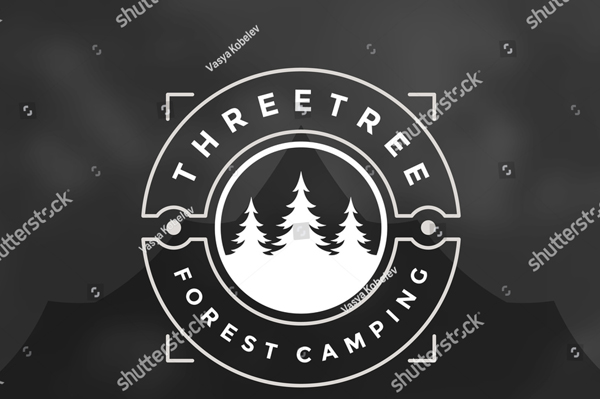 Forest Camping Logo