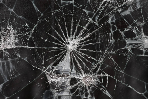 Free Cracked Glass Texture