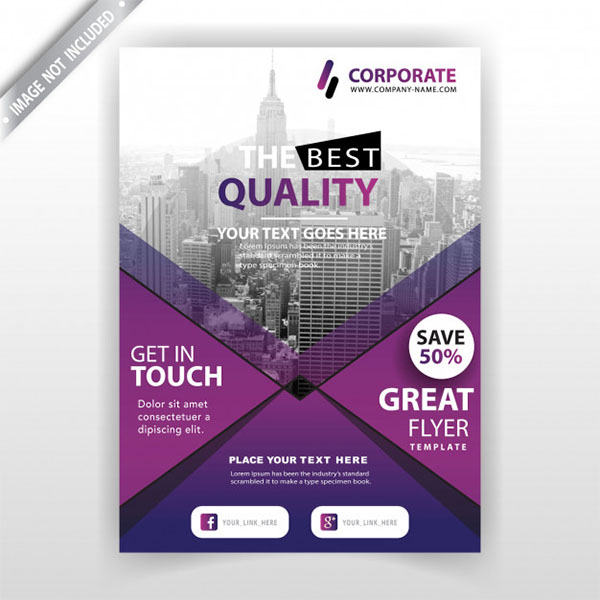 Free Vector Corporate Training Flyer