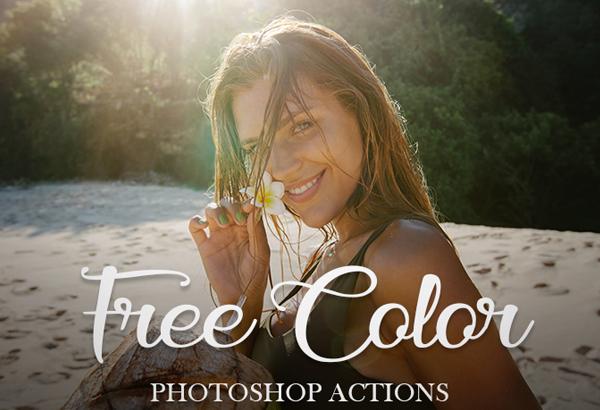 Free Vintage Photoshop Color Actions